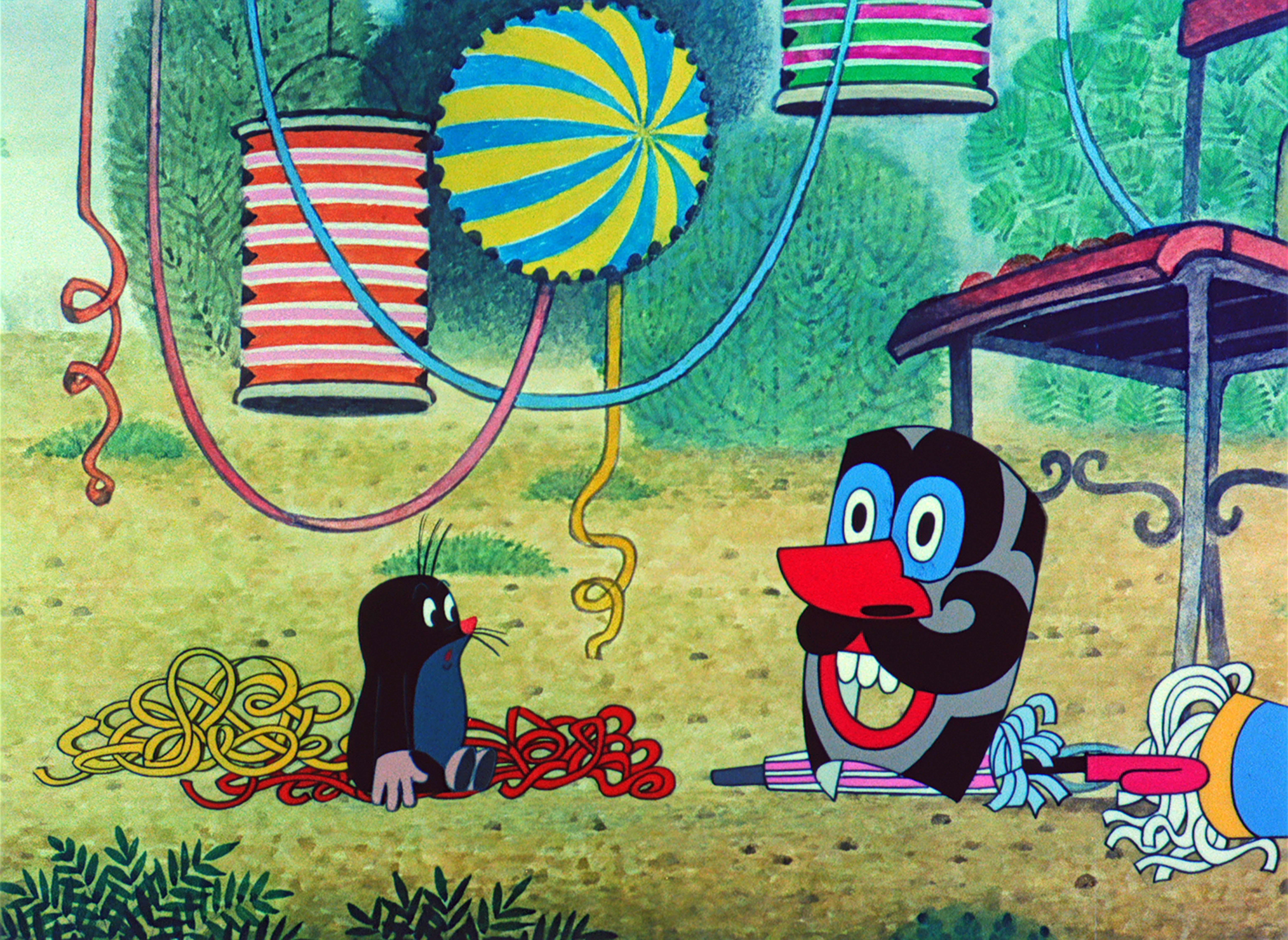 « La Petite Taupe » courts métrages d'animation tchèques réalisés par Zdenek Miler