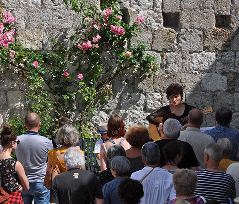 Roula Safar - La Romieu - Juillet 2016 © JM Travert