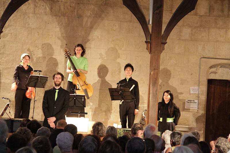 La Musique de Shakespeare - Les Timbres & Harmonia Lenis - La Romieu - Juillet 2016 © Marc Le Saux
