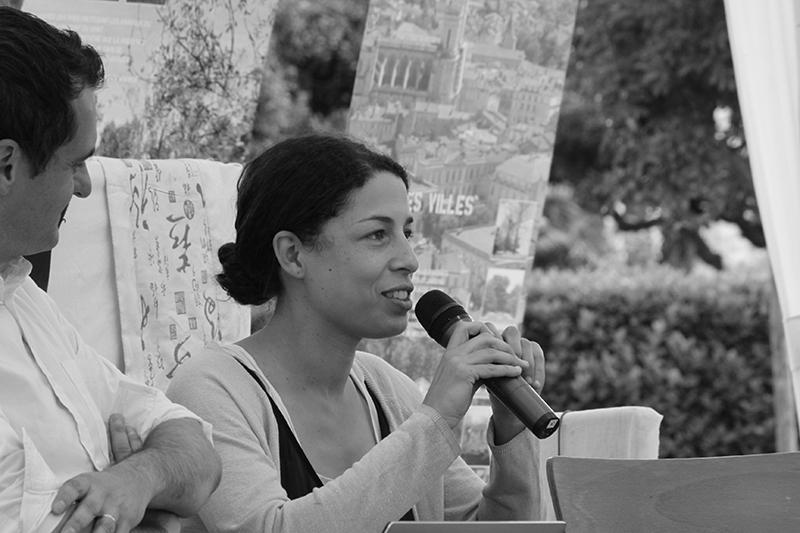 Mise en oreille avec Célimène Daudet - La Romieu - Juillet 2016